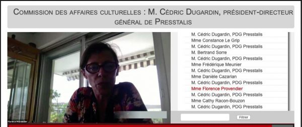 Audition de M. Cédric Dugardin PDG de Presstalis  e1595595259500
